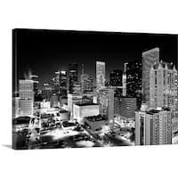Premium Thick-Wrap Canvas entitled Houston Skyline, Texas