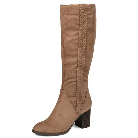 Journey + Crew Women's Regular, Wide Calf, and Extra Wide Calf Boot