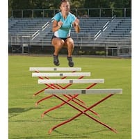 Adjustable Power Hurdles - Set of 4