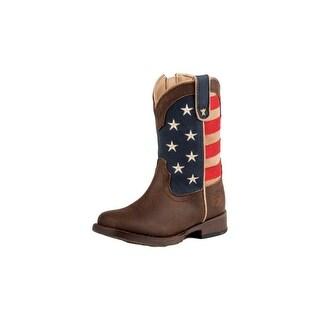 Roper Western Boot Girls American Patriot