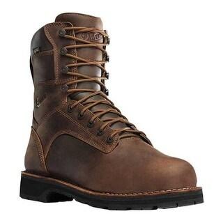 """Danner Men's Workman GORE-TEX 8"""" Boot Brown Oiled Full Grain Leather"""