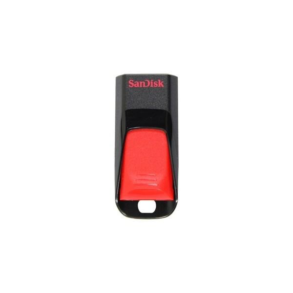 SanDisk SDCZ51-032G-A46 SanDisk Cruzer Edge USB Flash Drive - 32 GBUSB 2.0 - Encryption Support, Password Protection