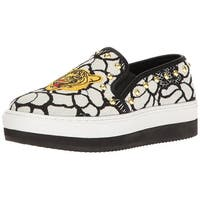 Steve Madden Womens Slick-p Fabric Low Top Slip On Fashion Sneakers