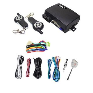 4-Button Remote Start/Door Lock Vehicle Security System