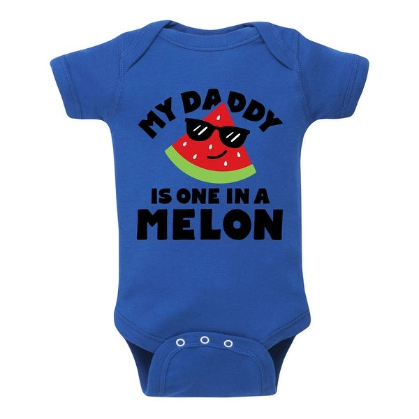 Daddy One In A Melon - Infant One Piece