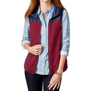 Tommy Hilfiger Womens Packable Vest Hooded Striped|https://ak1.ostkcdn.com/images/products/is/images/direct/21b6640daacb09c604421ef24eef3f5b9f9e8ea6/Tommy-Hilfiger-Womens-Packable-Vest-Hooded-Striped.jpg?impolicy=medium