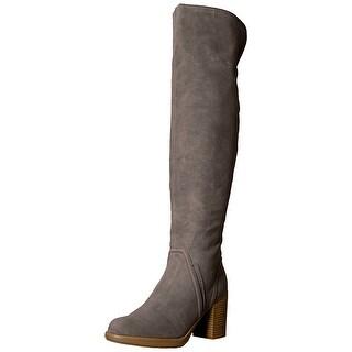 Sugar Womens Prodigy Closed Toe Over Knee Fashion Boots