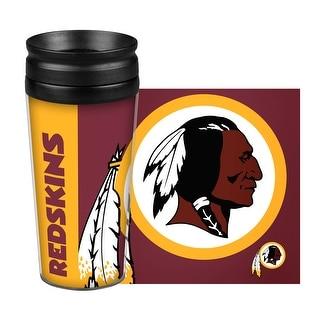 Washington Redskins Travel Mug 14oz Full Wrap Style Hype Design