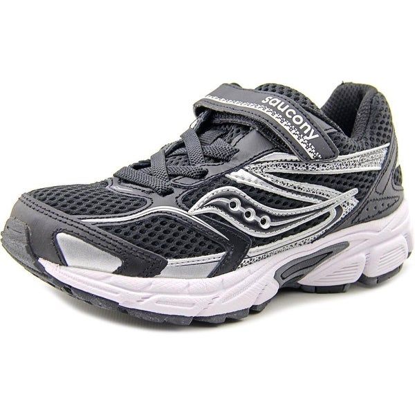 Saucony Cohesion 9 Youth W Round Toe Canvas Black Running Shoe