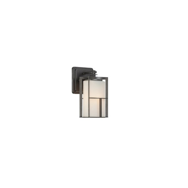 Designers Fountain 31811 1-Light Outdoor Wall Lantern from the Braxton Collection - Charcoal - n/a