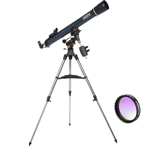 Celestron AstroMaster 90EQ Refractor-Basic Imaging Celestron AstroMaster 90EQ Telescope