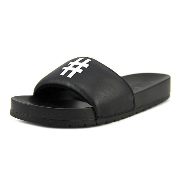 fb81390ab6c Shop Aldo Tarnoff Open Toe Synthetic Slides Sandal - Free Shipping ...