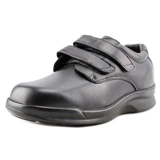 Apex Conform Men W Round Toe Leather Black Oxford