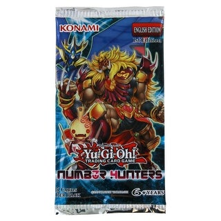 Yu-Gi-Oh Number Hunters Booster Pack - multi