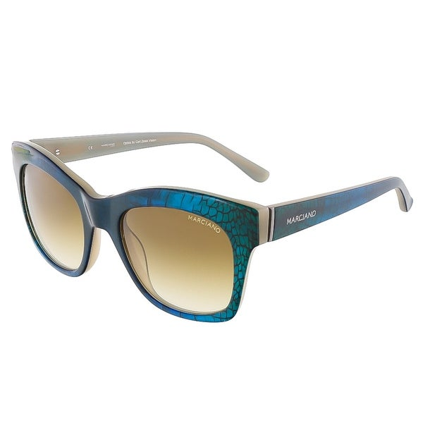 Guess by Marciano GM0728 92F Blue Cat Eye sunglasses - 51-20-135