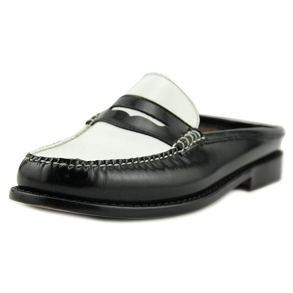 GH Bass & Co Wynn Blk/White Loafers