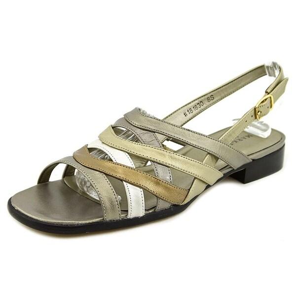 Mark Lemp By Walking Cradles Calypso Women W Open-Toe Synthetic Slingback Sandal