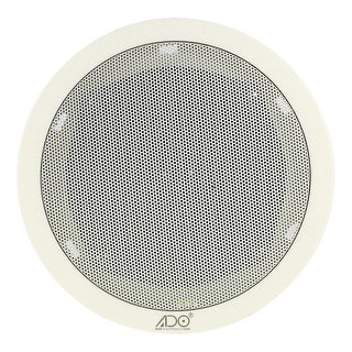 Wall Ceiling Flush Mounting Audio Loudspeaker Speaker 3W Replacements White 8Ohm