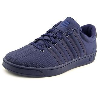 K-Swiss Court Pro II T CMF Men Round Toe Canvas Blue Sneakers