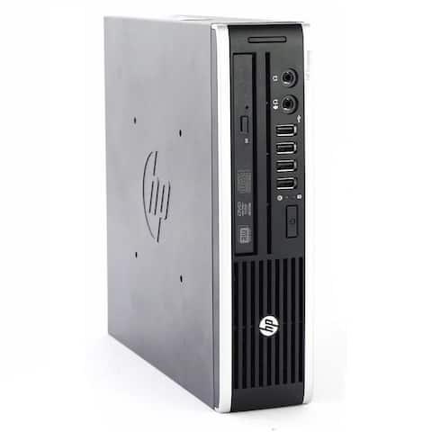HP Compaq Elite 8000 Computer Intel Core 2 Duo 2GB RAM 160GB HDD Windows 10 Home - Black