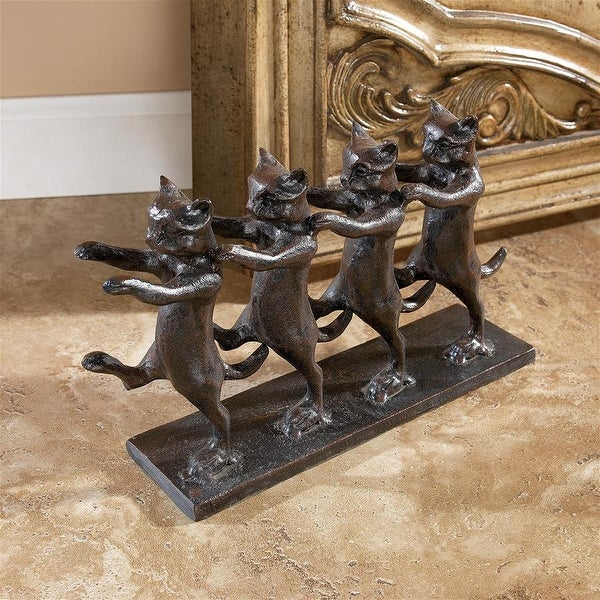 Design Toscano Chorus Line Cats Cast Iron Statue