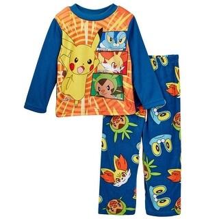 Nickelodeon Boys 4-10 Pikachu Pajama Set - Multi