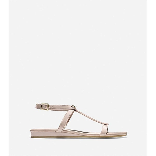 Cole Haan Womens Paz II Open Toe Casual T-Strap Sandals
