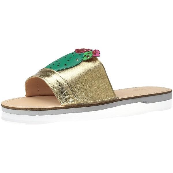 c8b52ec8aa94 Shop Kate Spade New York Womens Iguana Leather Open Toe Casual Slide ...