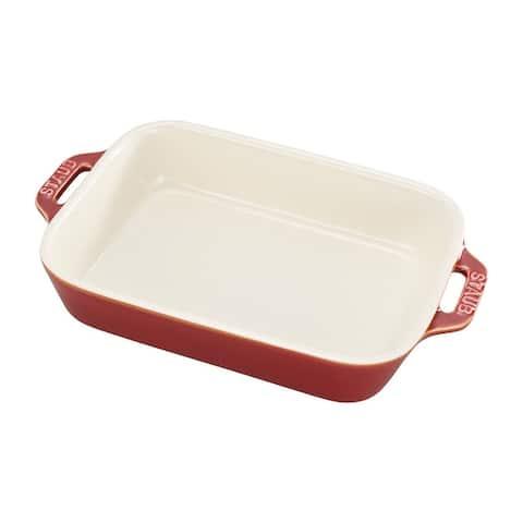 Staub Ceramic 7.5-inch x 6-inch Rectangular Baking Dish - 7.5x6-inch