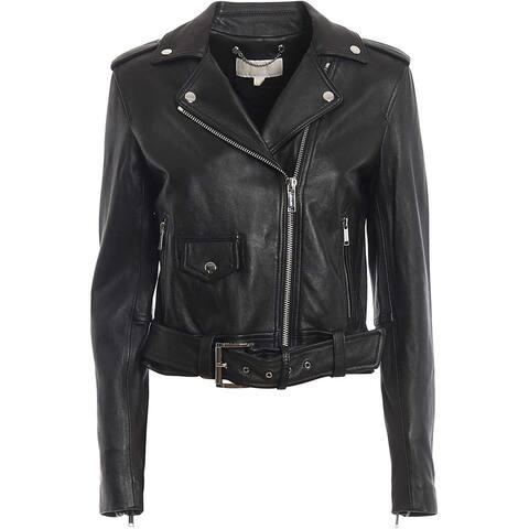 Michael Kors Womens Black Jacket