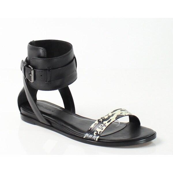 Pour la Victoire NEW Black Riko 8M Gladiator Leather Sandals