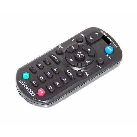 OEM Kenwood Remote Control Originally Shipped With DPX302U, DPX303MBT, DPX502BT