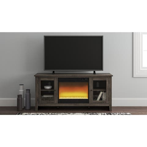 """Arlenbry 60"""" TV Stand with Electric Fireplace"""