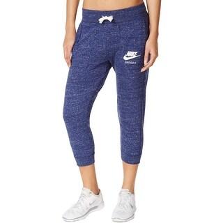 Nike Womens Gym Vintage Capri Pants Vintage Graphic