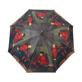 48 Inch `My First and Second Sermons` Bamboo Stick Umbrella