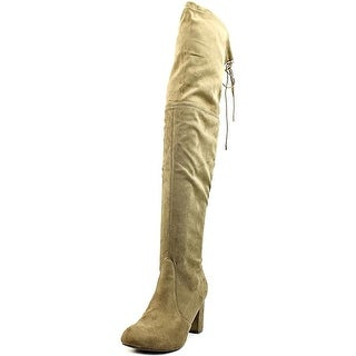 Nature Breeze Bonita   Round Toe Synthetic  Over the Knee Boot