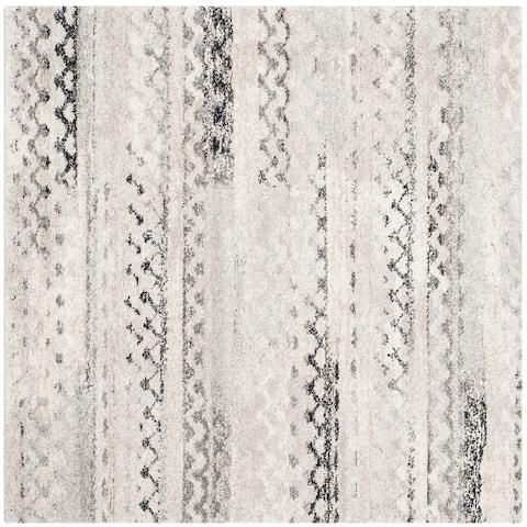 SAFAVIEH Retro Leonide Modern Abstract Distressed Rug