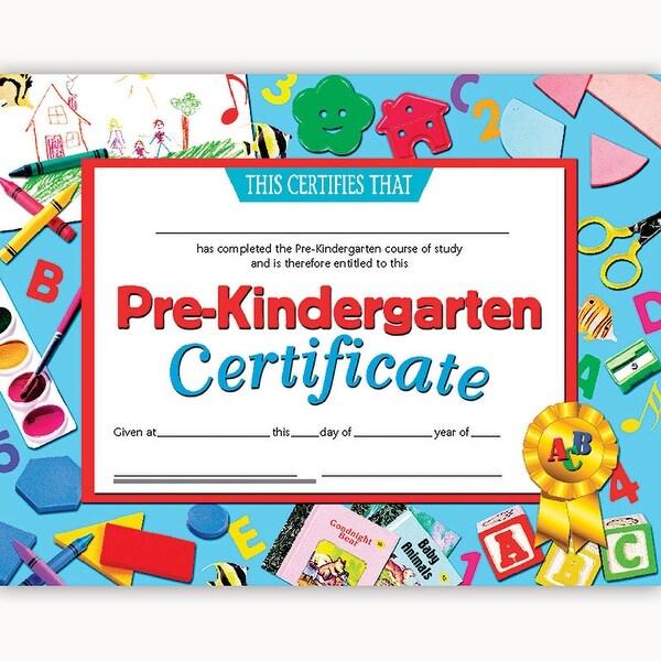 shop (6 pk) certificates pre-k inkjet laser 8.5x11 30 per pk - free