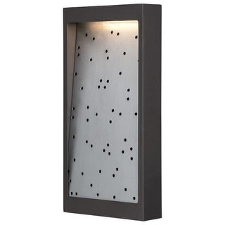 Kovacs P1228-564-L LED Outdoor Flush Mount ADA Wall Sconce from the Pinball Collection