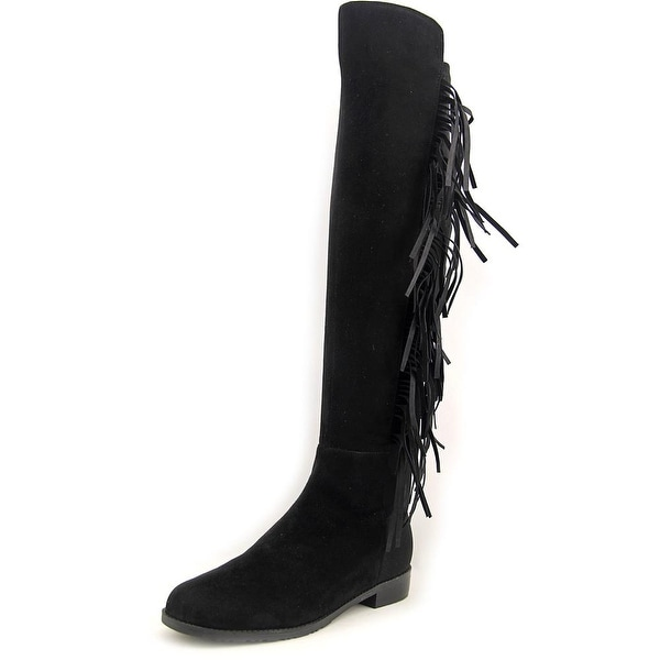 Marc Fisher Myndee Women Round Toe Suede Over the Knee Boot