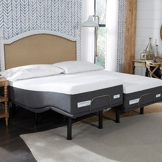 Link to ComforPedic from BeautyRest 14-inch NRGel Mattress and Adjustable Bed Set Similar Items in Mattresses
