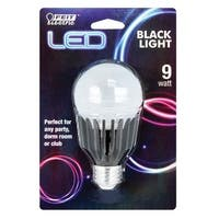 Feit Electric BPA19/BLB/LED LED Black Light Bulb, 9 Watts