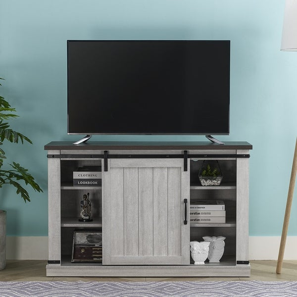 42-in TV Stand for TVs up to 55 inches. Opens flyout.