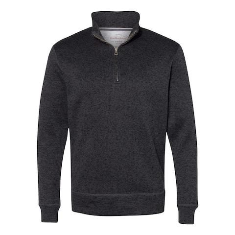 Sweaterfleece Quarter-Zip Henley