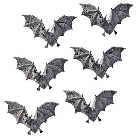 Design Toscano The Vampire Bats of Castle Barbarosa Wall Sculptures: Set of 6