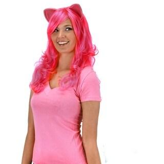 My Little Pony Pinkie Pie Adult Costume Wig W/Ears