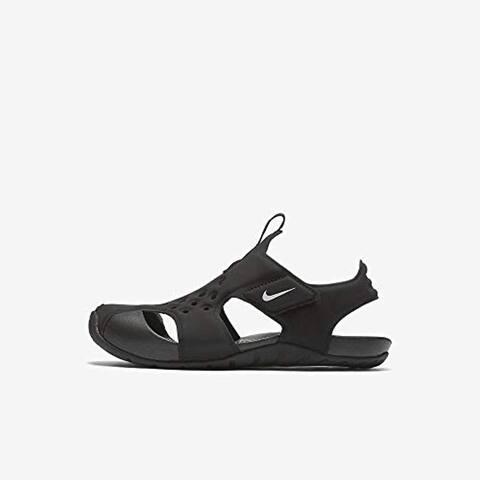 Nike Toddler Sunray Protect 2 (Td) Black White, 8 Toddler