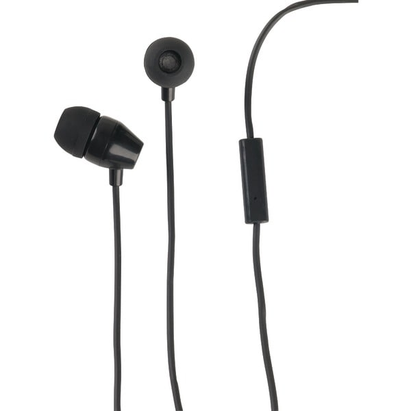 Rca Hp159Micbk Stereo Earbuds With In-Line Microphone