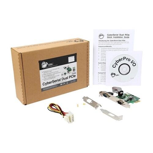 2Port Rs232 Cyberserial Dual Pcie Bracket