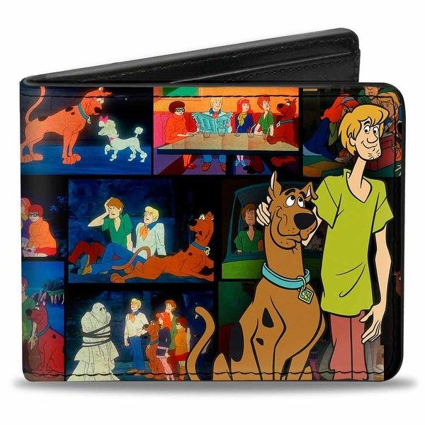 Scooby Doo & Shaggy Pose Scene Blocks + Scooby Doo! Bi Fold Wallet - One Size Fits most